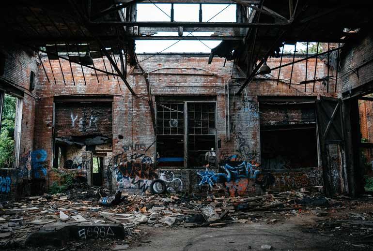 edificio ruinoso